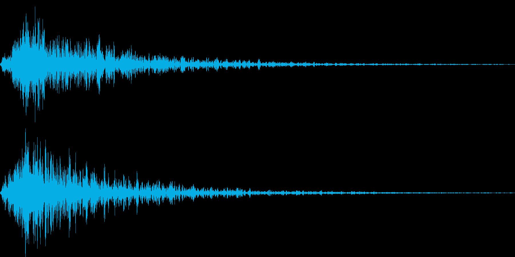 炎攻撃 炎魔法 打撃 火炎属性 01BVの再生済みの波形