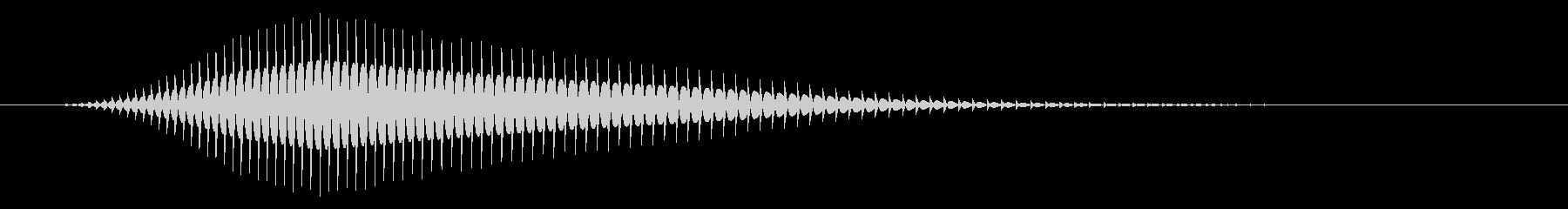 キャンセル/戻る/8ビット系の未再生の波形