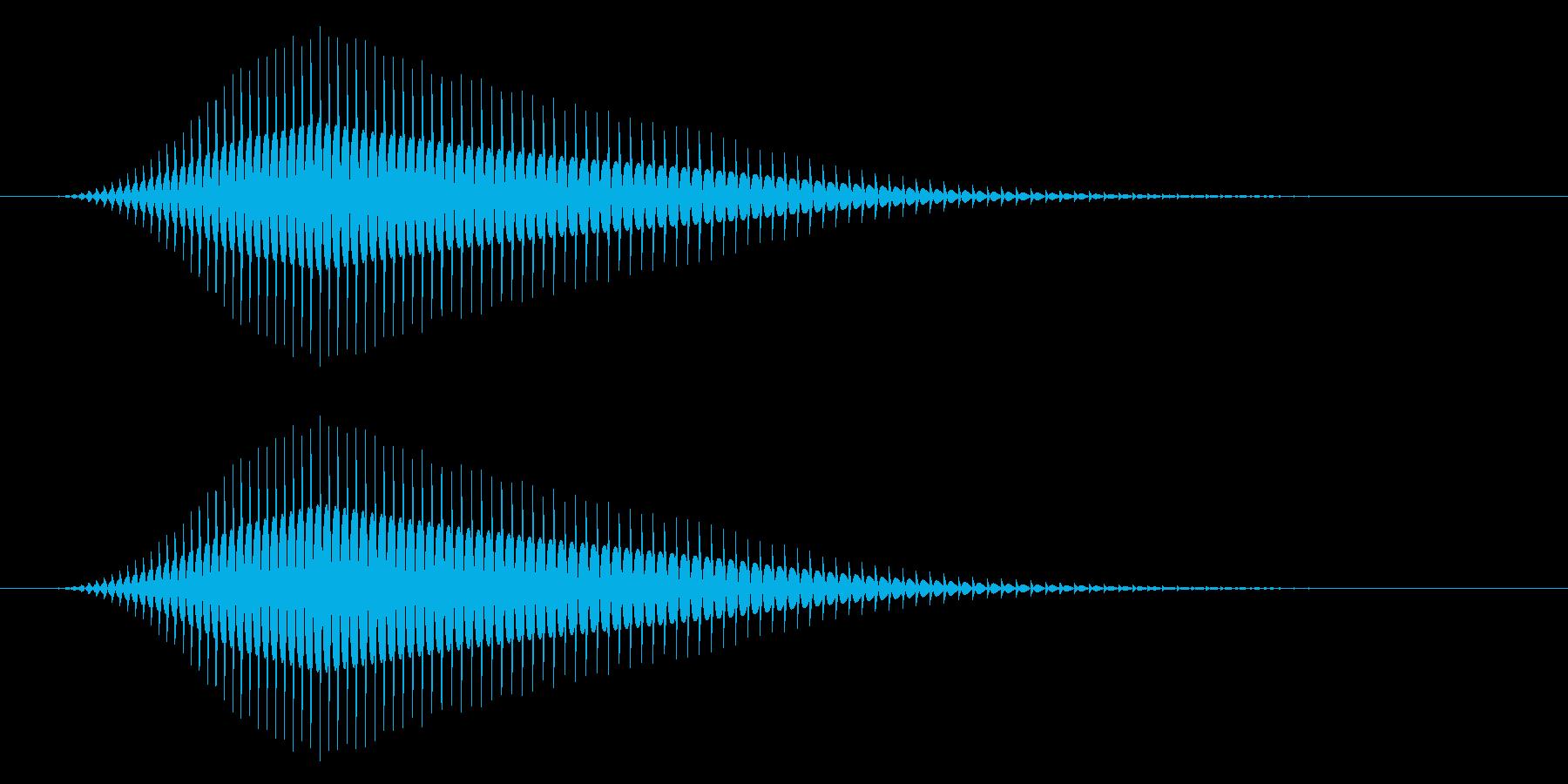 キャンセル/戻る/8ビット系の再生済みの波形