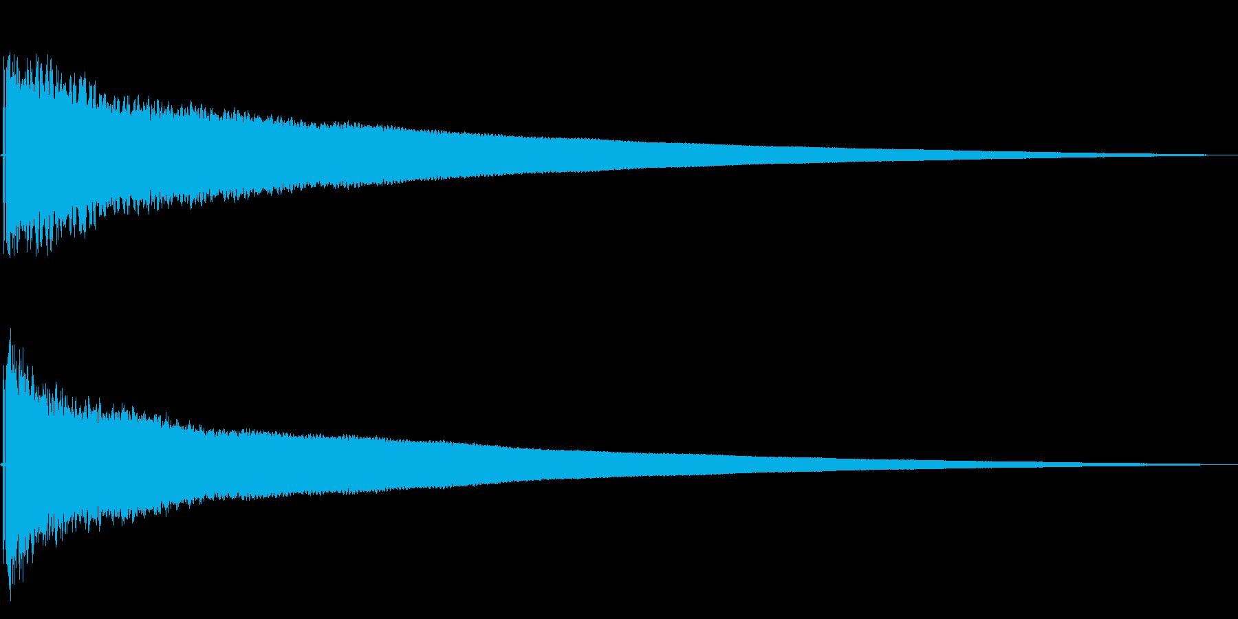 【ゴ〜ン!大晦日】除夜の鐘【日本伝統】1の再生済みの波形