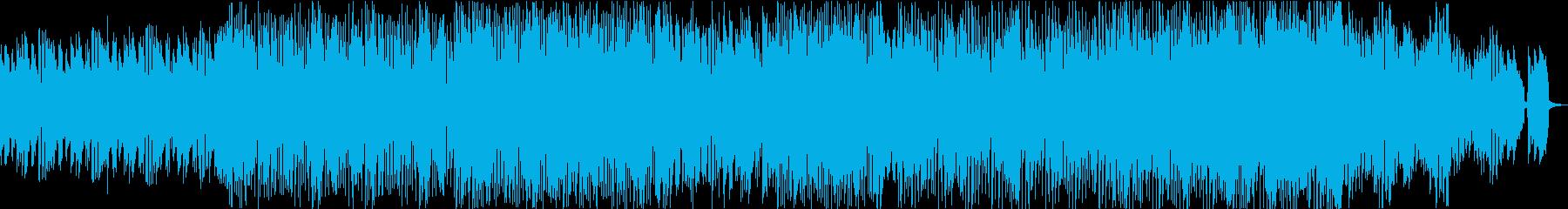クールで都会的なアシッド系ハウスBGMの再生済みの波形
