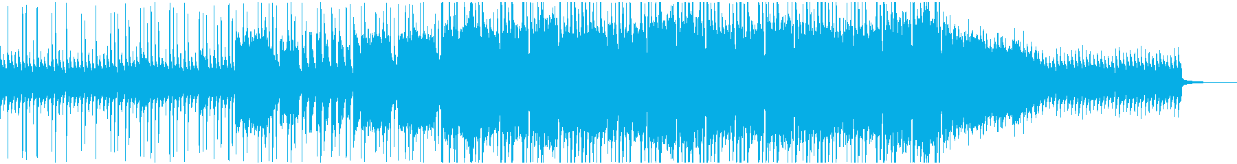 素朴で可愛らしいくも壮大なインスト楽曲の再生済みの波形