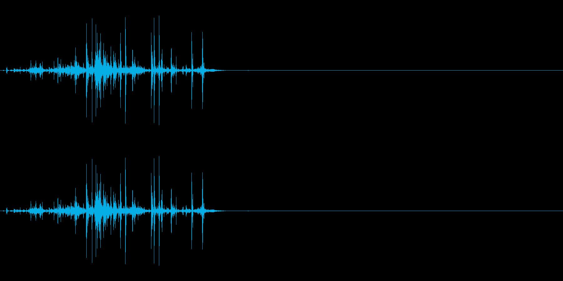 折れる音04の再生済みの波形