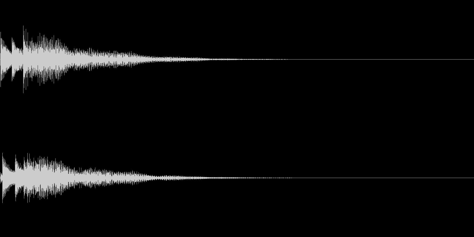 システム音12_シンセDPの未再生の波形