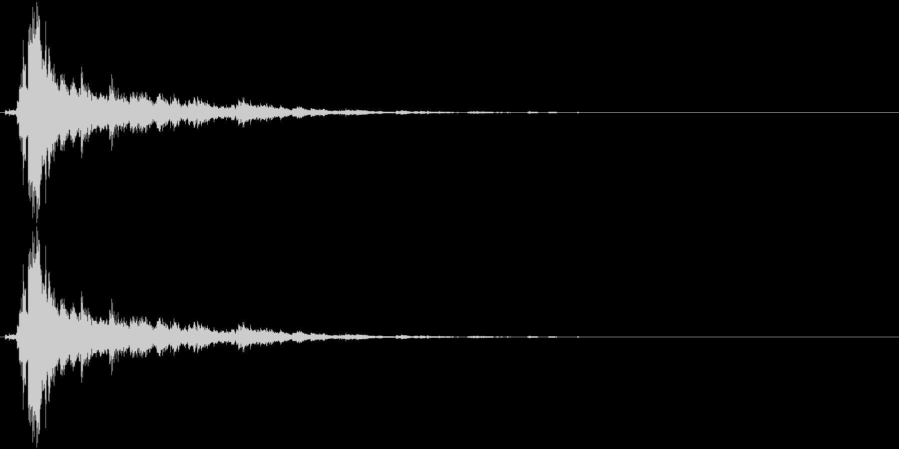 音侍SE「シャン〜〜!」象徴的な鈴の音1の未再生の波形