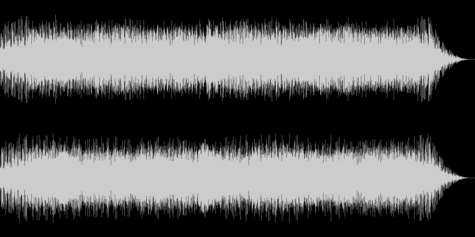 バルカン半島の熱狂的ジャズの様なBGMの未再生の波形
