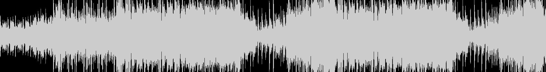 ループ:明るく賑やかで可愛いケルト風の曲の未再生の波形