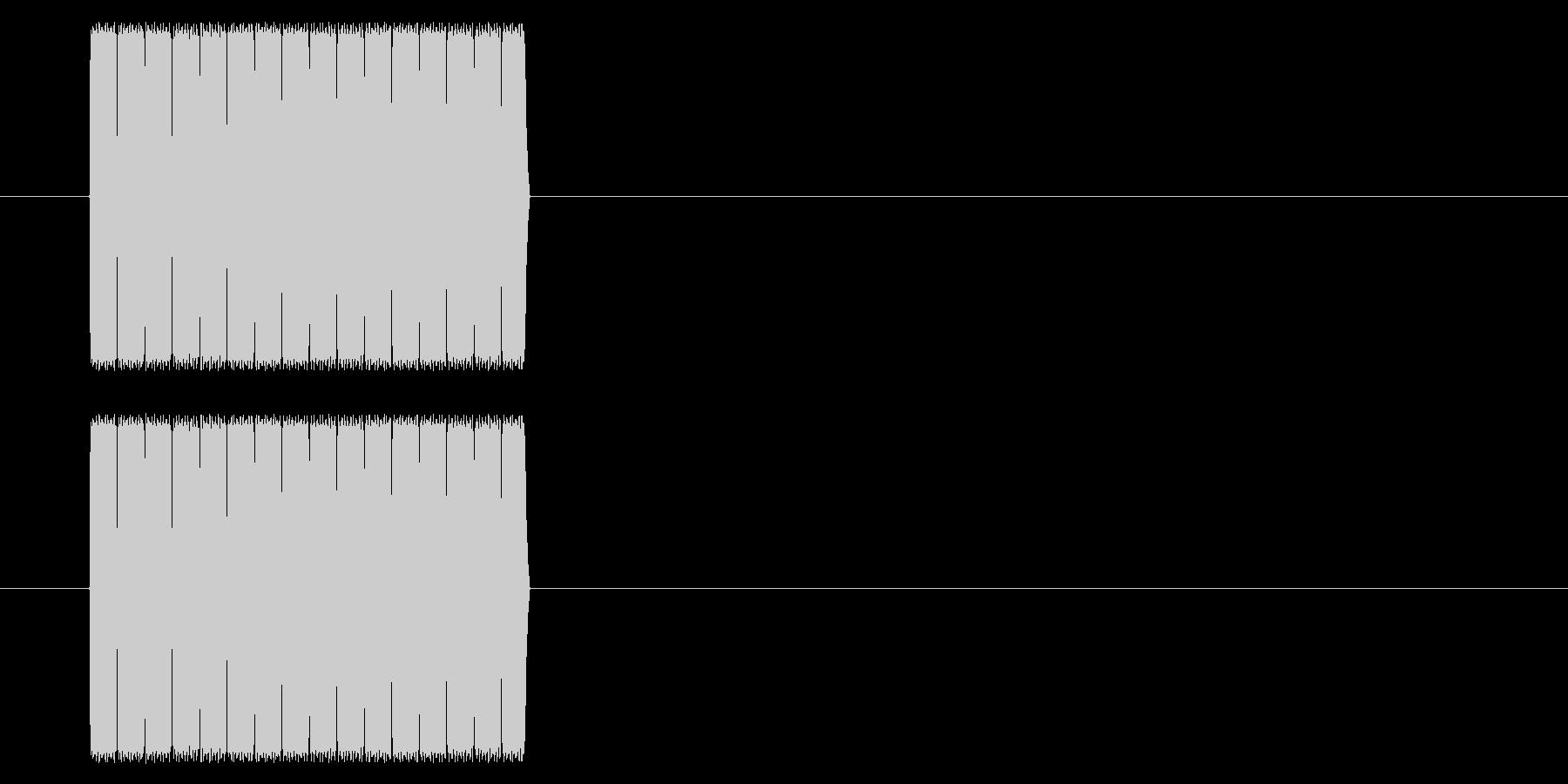 【NES RPG02-08(メッセージ)の未再生の波形