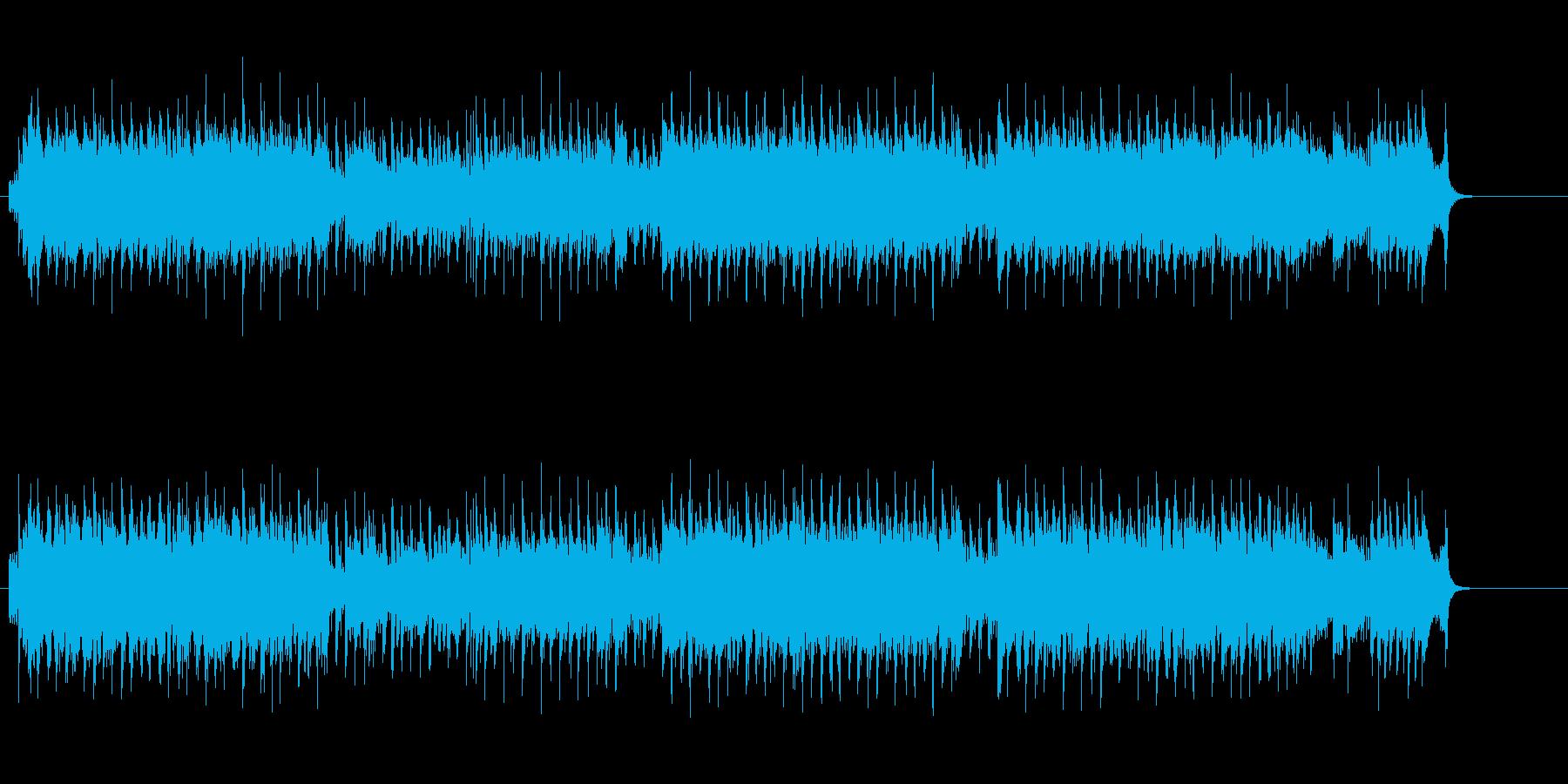 イントロから開放的に炸裂するユーロビートの再生済みの波形