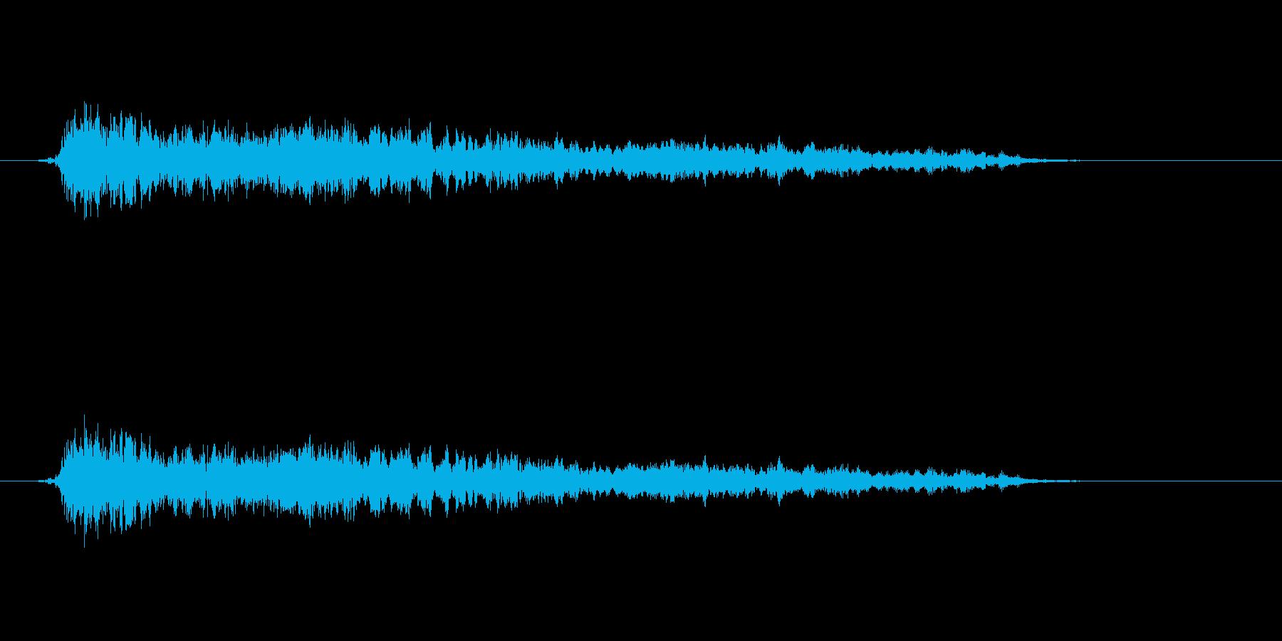【モンスター02-07】の再生済みの波形