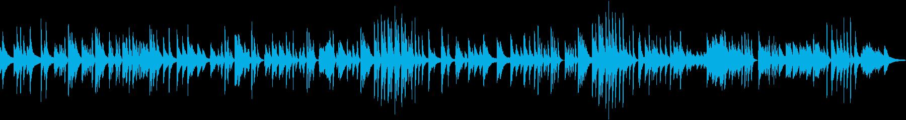 ピアノソロ ゆかいな牧場 童謡 かわいいの再生済みの波形