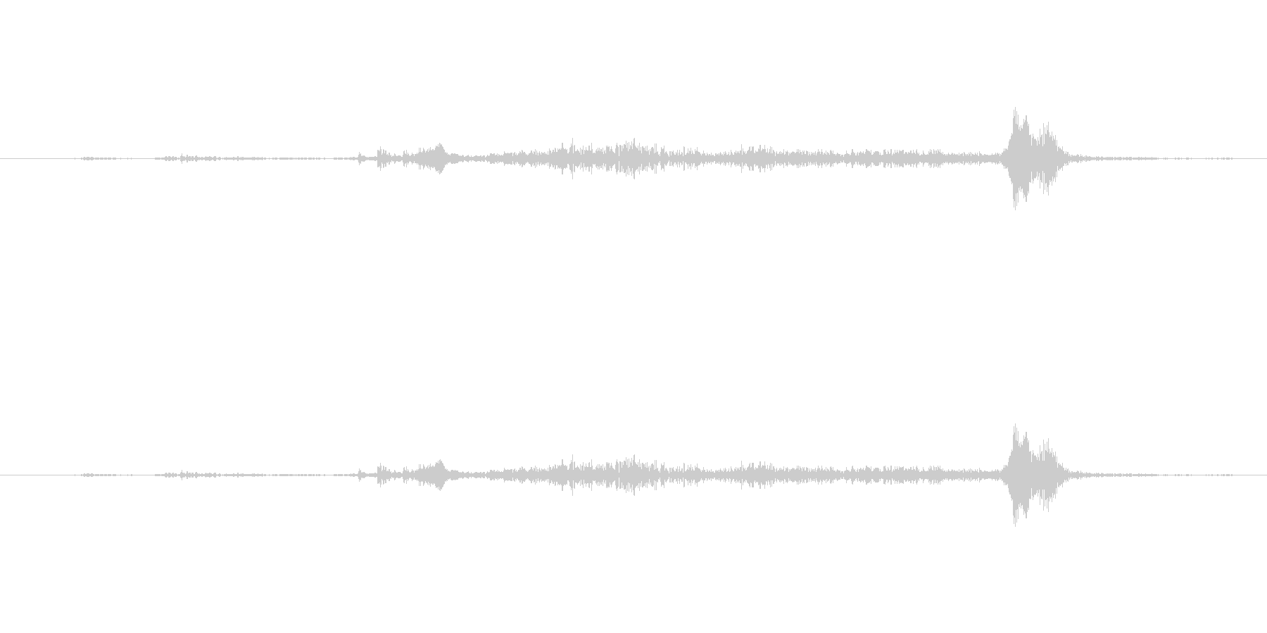 【生音】(ササーサ)というタンス開ける音の未再生の波形