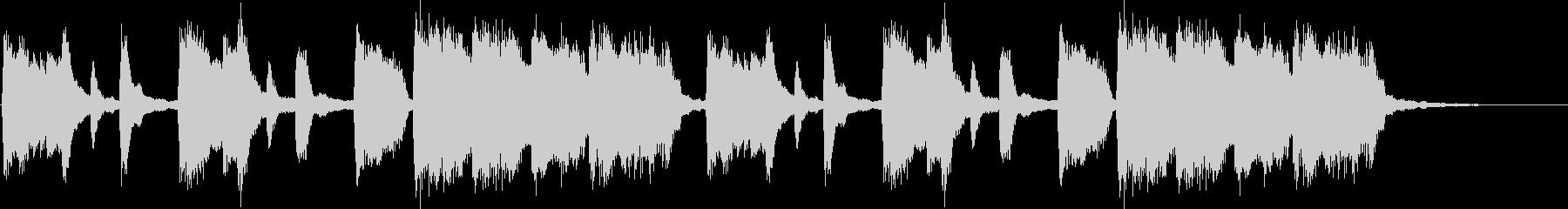 クラシック調の子供向けジングル(ロング)の未再生の波形