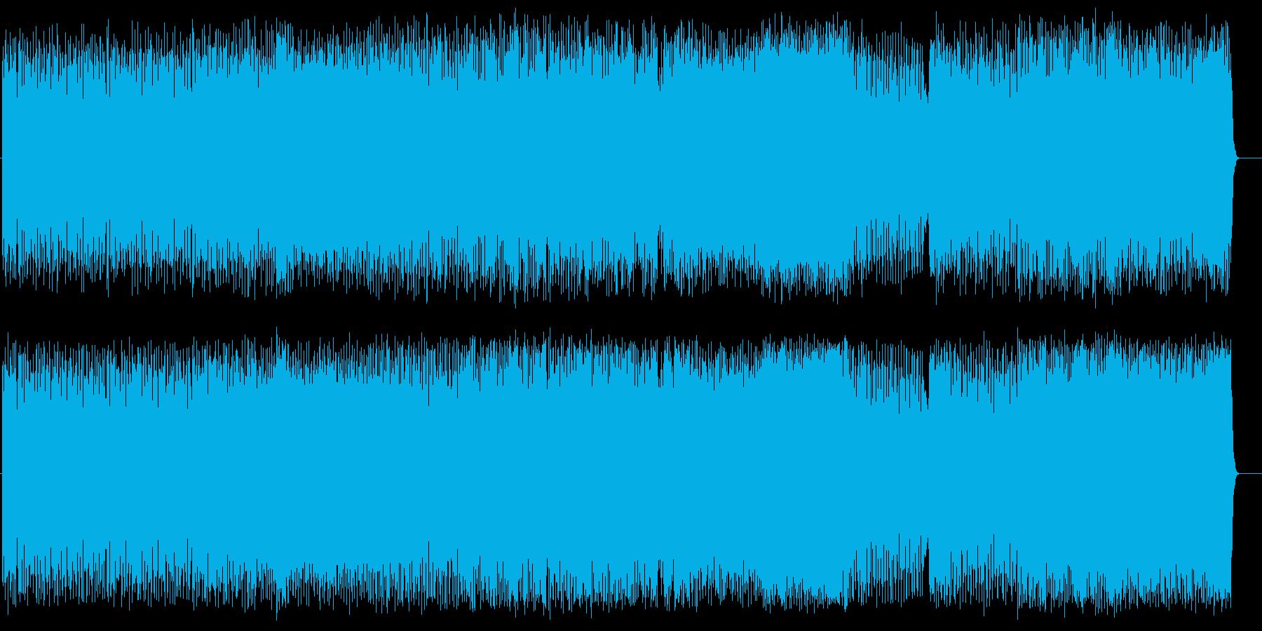 スリリングに決まるカーチェイス・スタントの再生済みの波形