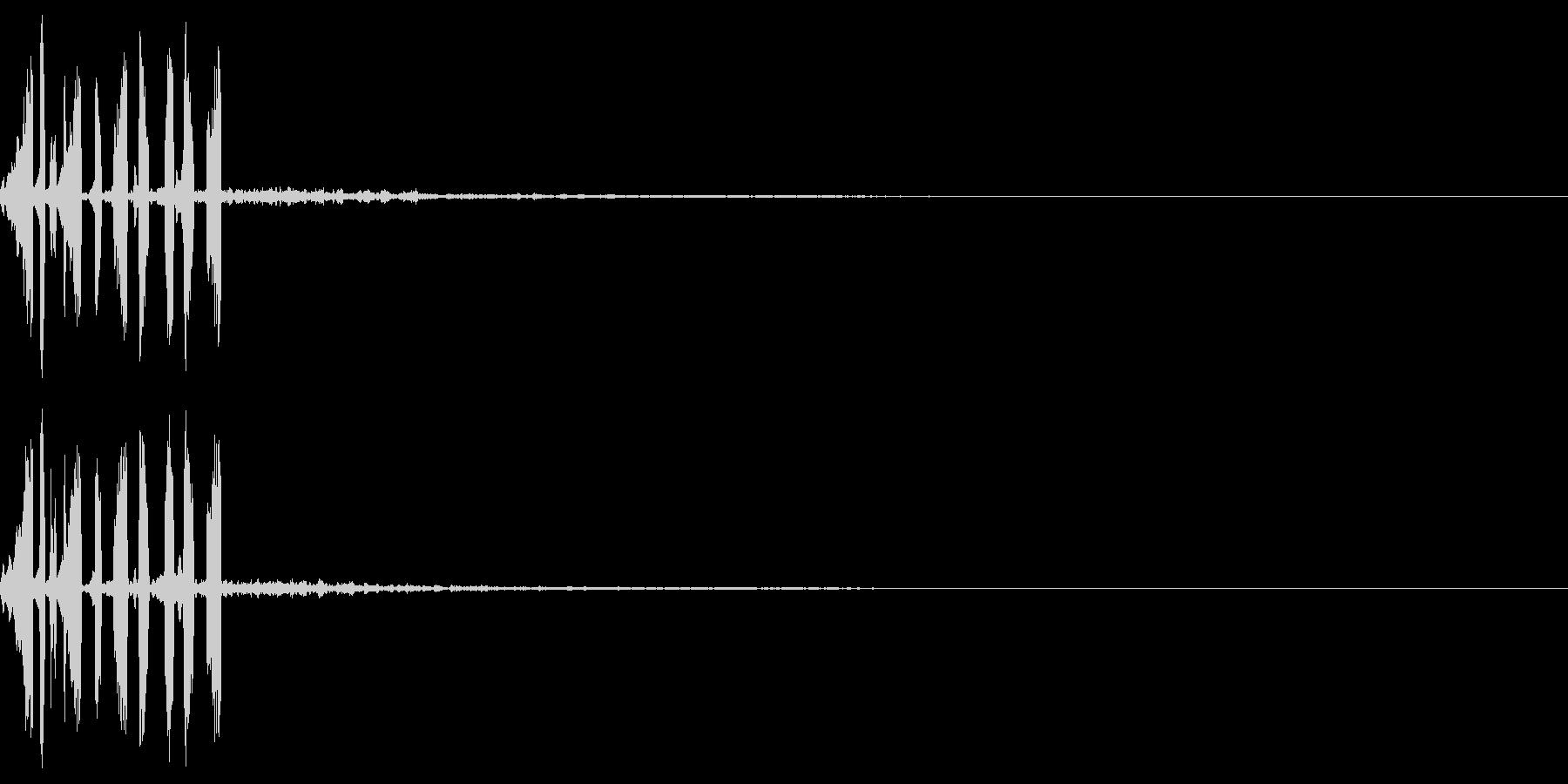 ゲームの効果音8 回転する 振りかざすの未再生の波形