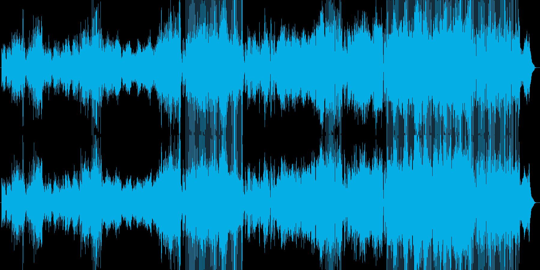 幻想的な和風エレクトロニカの再生済みの波形