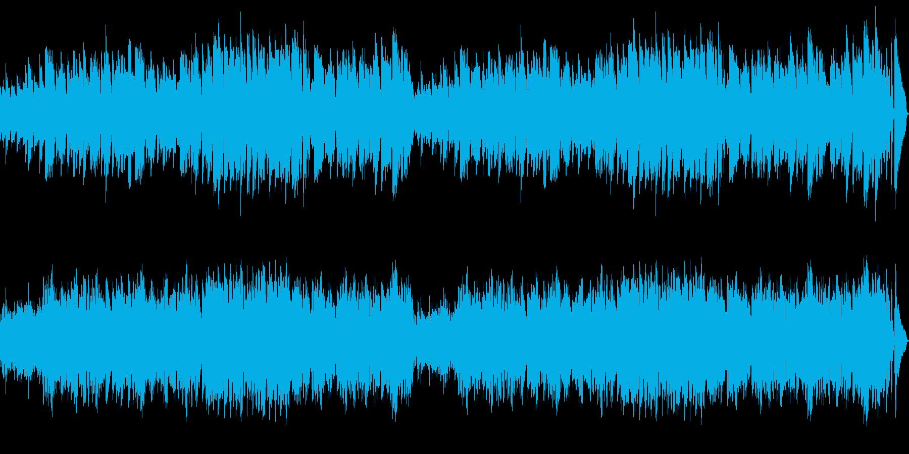 ピアノ中心のメロディアスなしっとりジャズの再生済みの波形