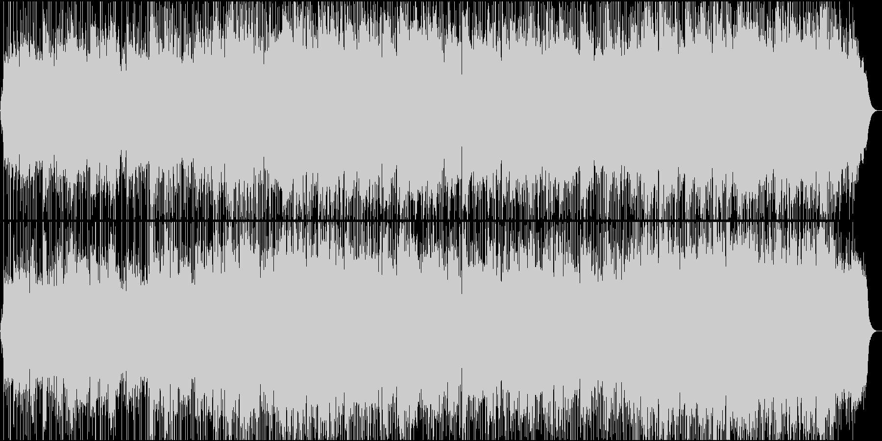甘いエレキギターの切ないバラードの未再生の波形