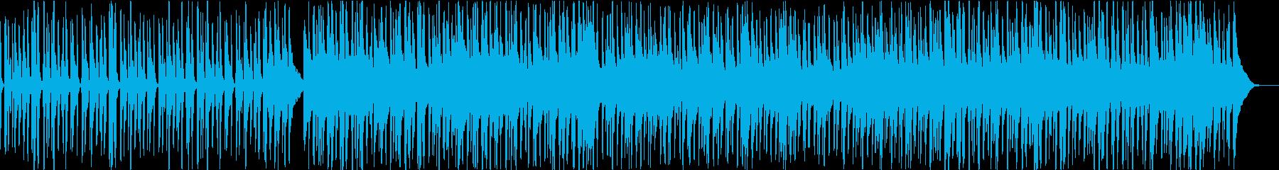 口笛のかわいい映像系の曲の再生済みの波形