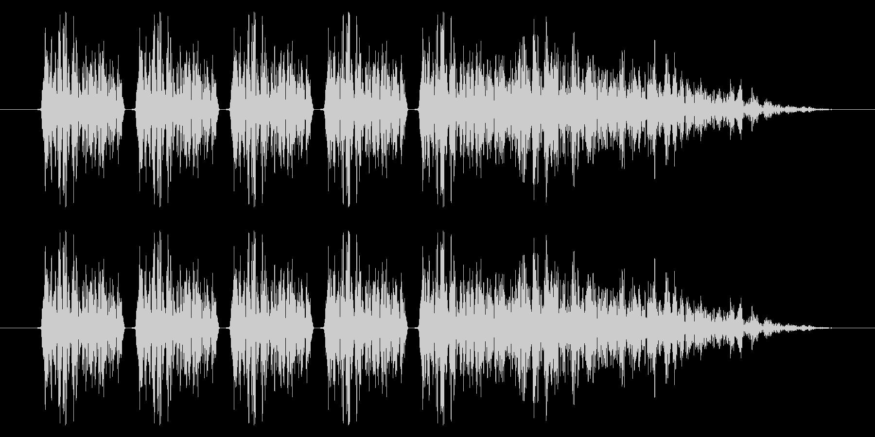 SNES シューティング02-11(ダメの未再生の波形