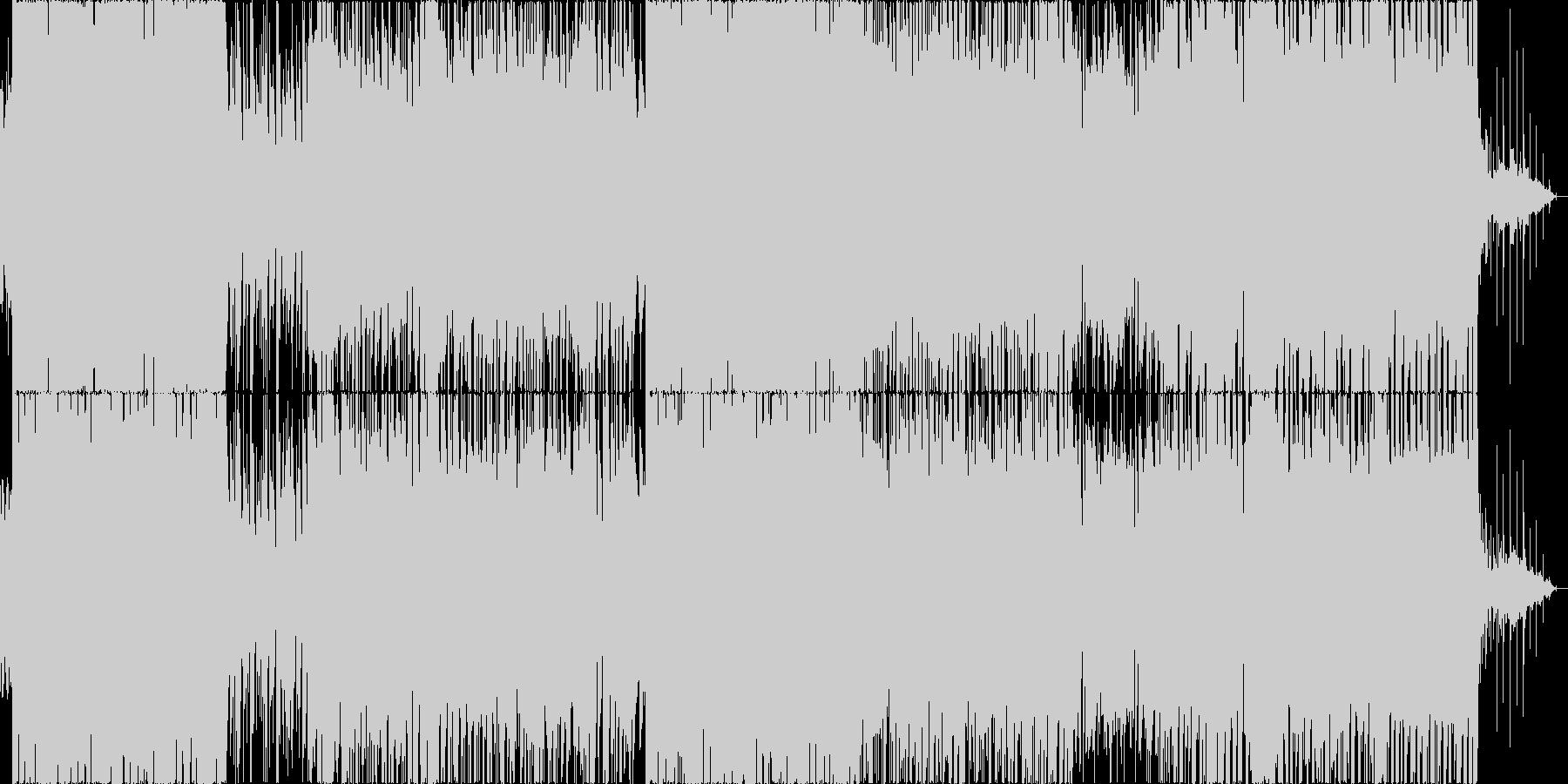 エレクトリカルなパレードなポップスの未再生の波形