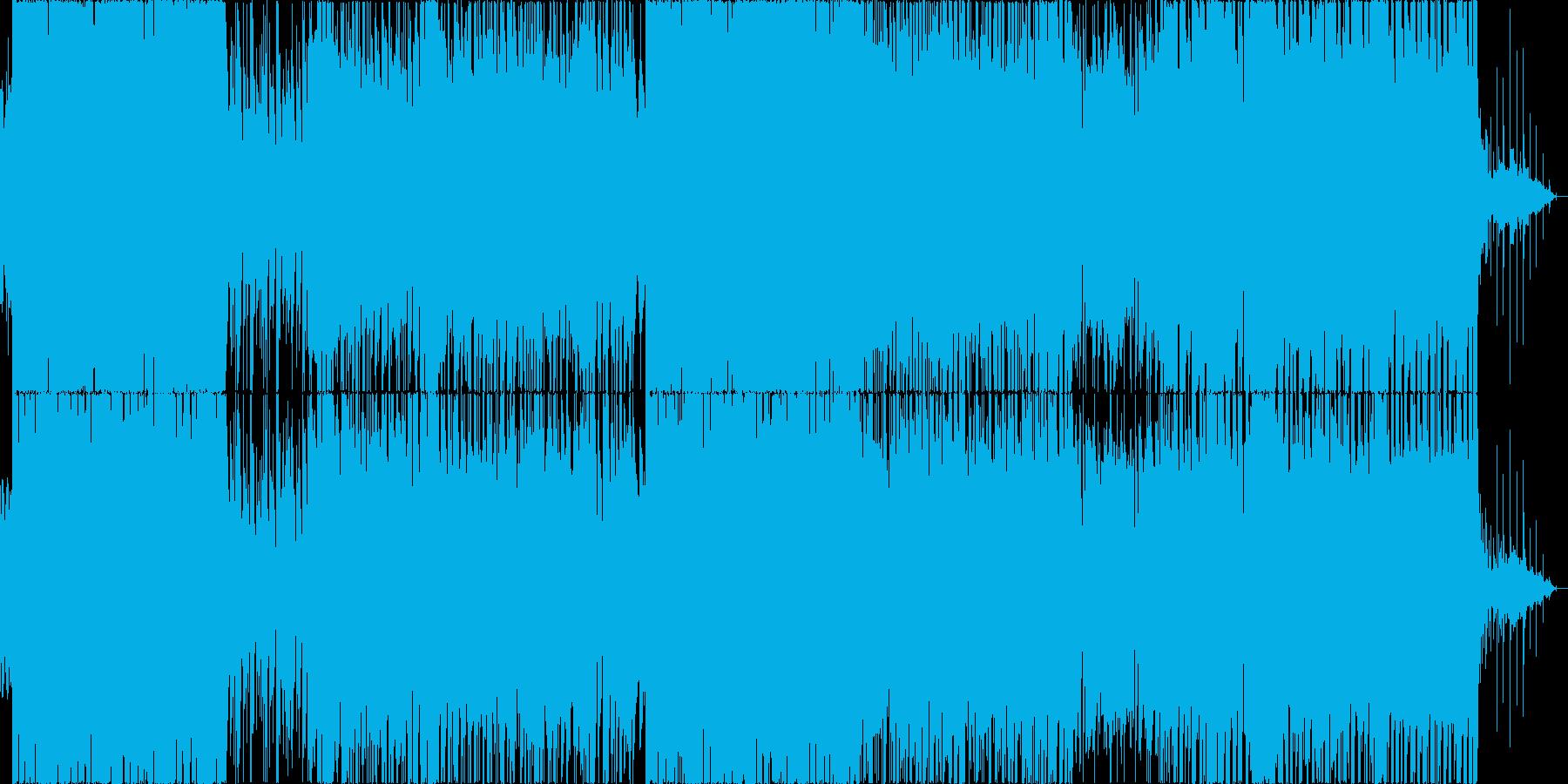 エレクトリカルなパレードなポップスの再生済みの波形