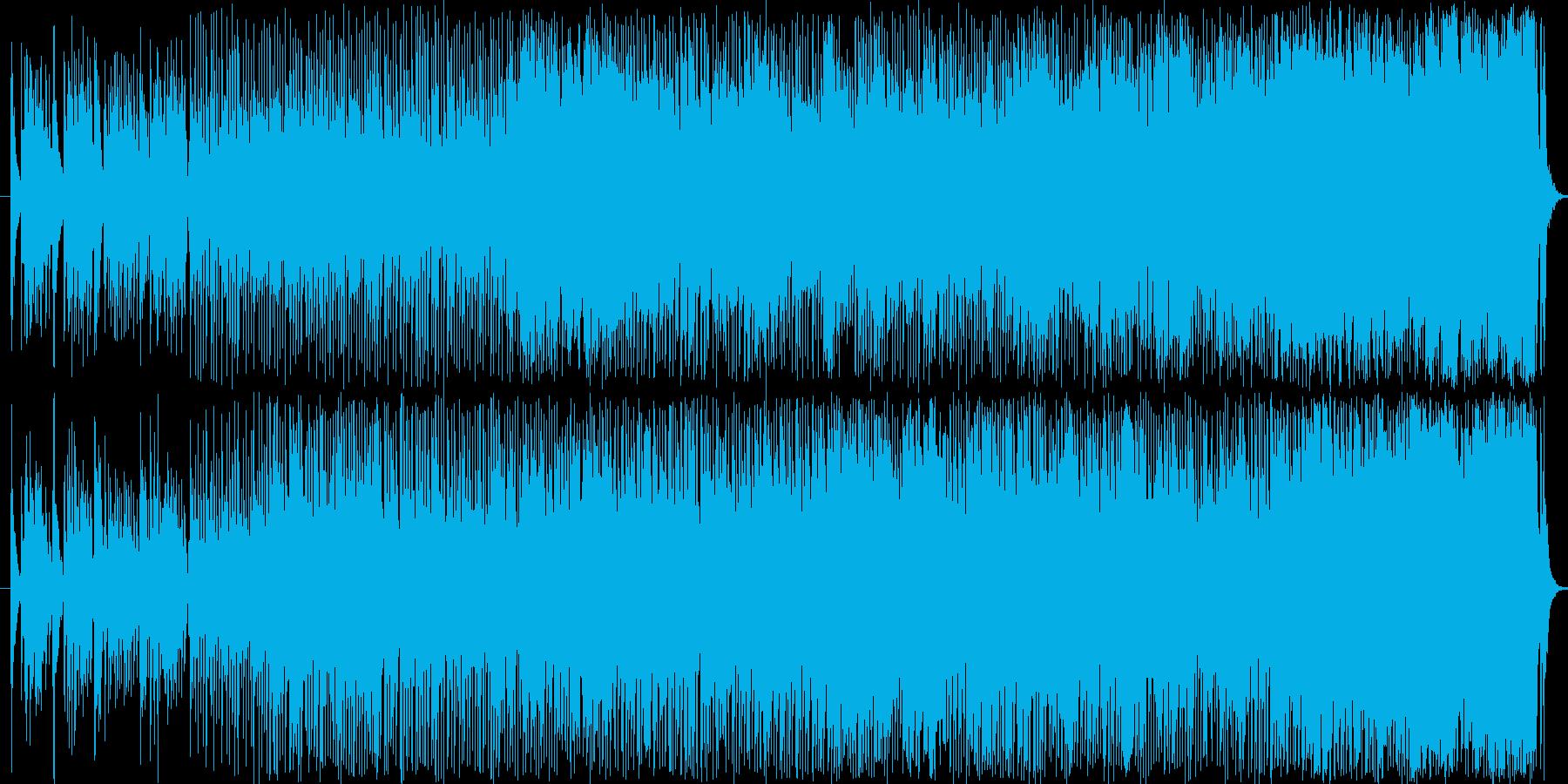 ギリシャ民謡の再生済みの波形