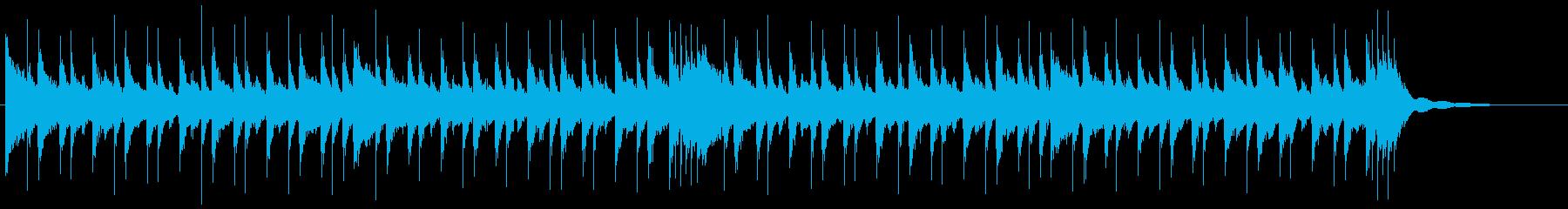 環境音楽の再生済みの波形