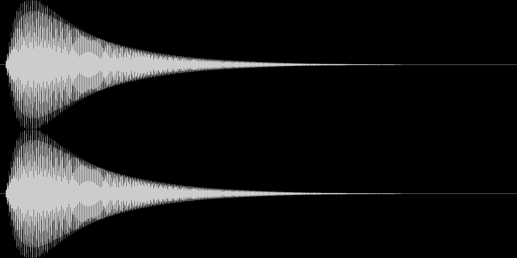 【ピヨーン】ファミコン系ジャンプ音_07の未再生の波形