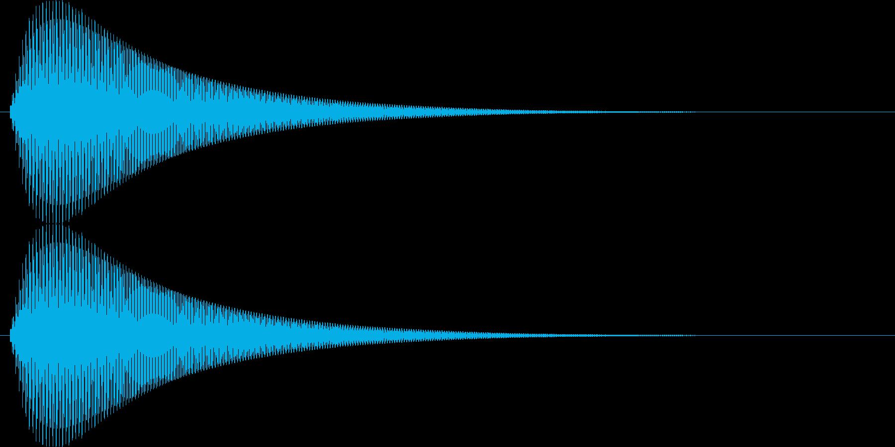 【ピヨーン】ファミコン系ジャンプ音_07の再生済みの波形