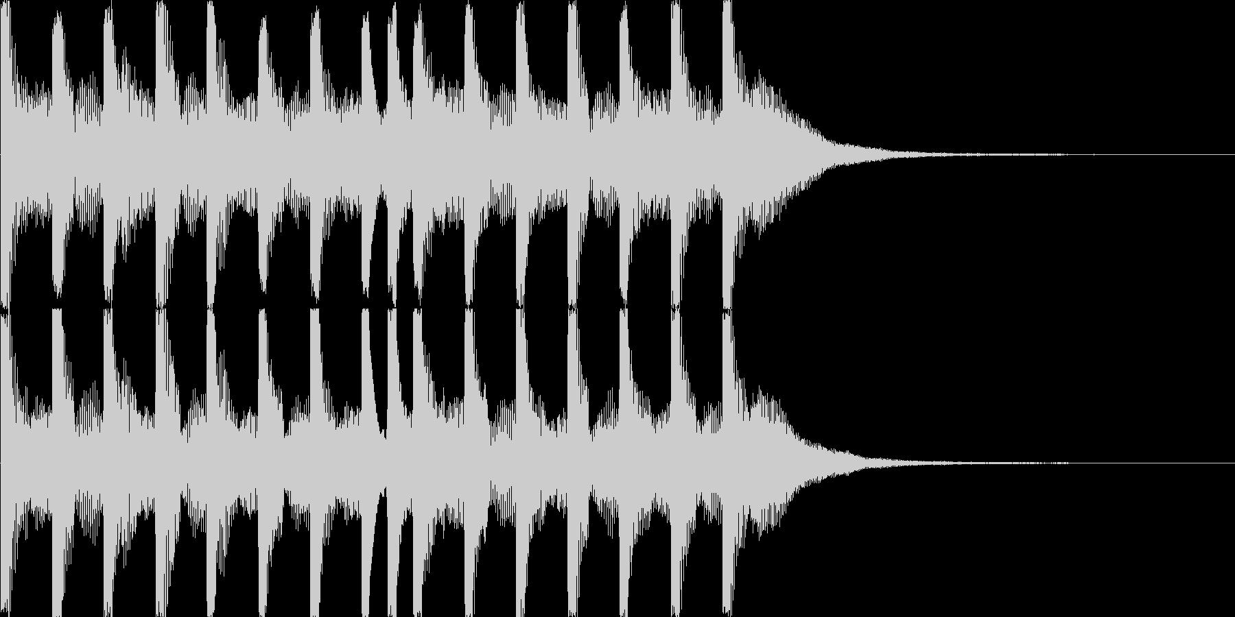 特徴的でキュートな音、ゲームのクリア音等の未再生の波形