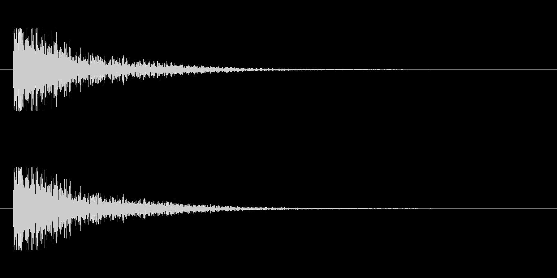 【大砲01-5】の未再生の波形