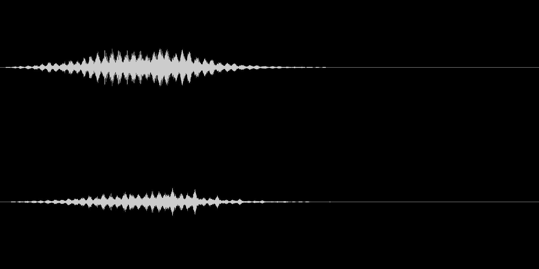 ダンスミュージックに使える上昇音の未再生の波形