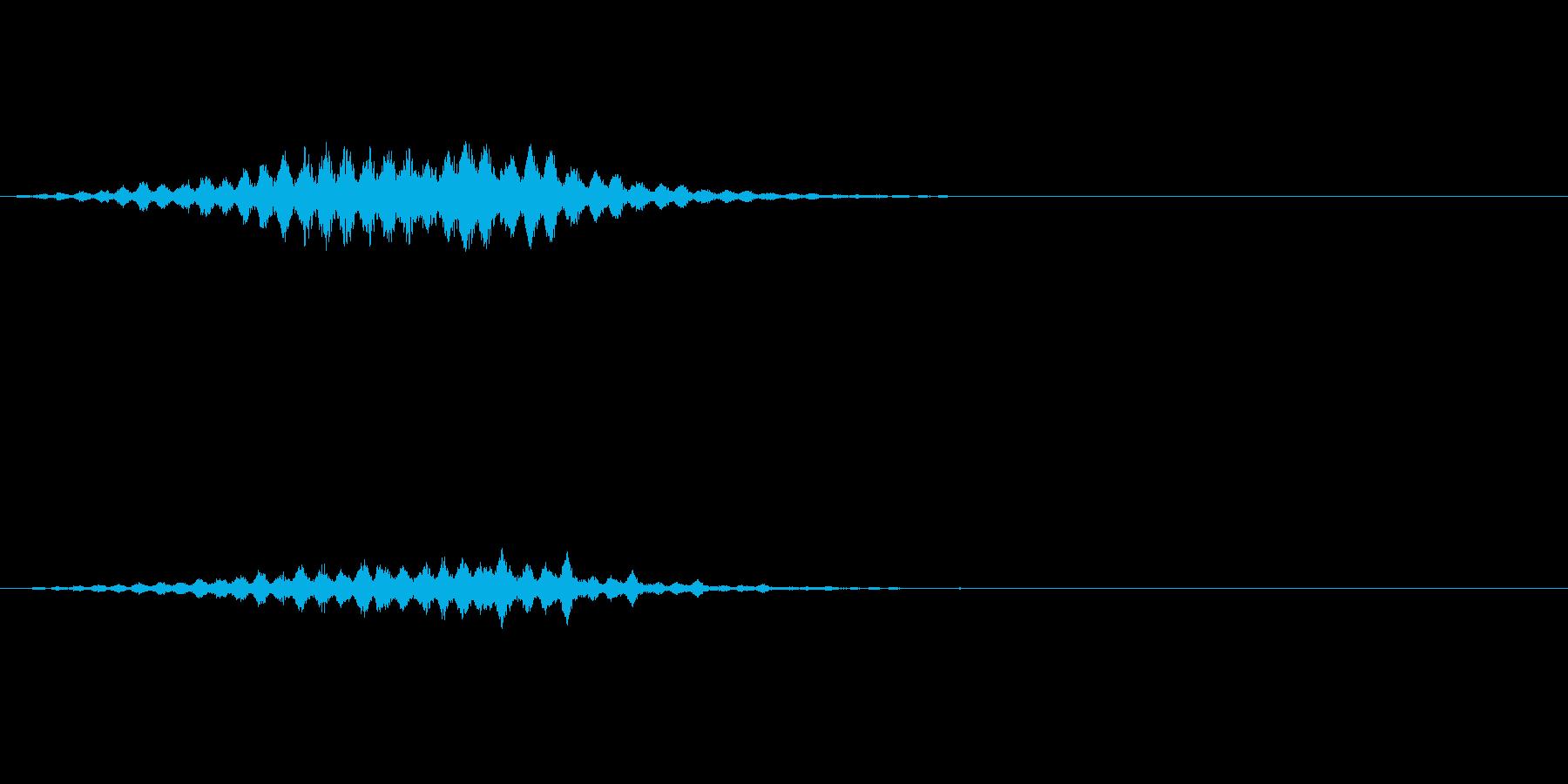 ダンスミュージックに使える上昇音の再生済みの波形