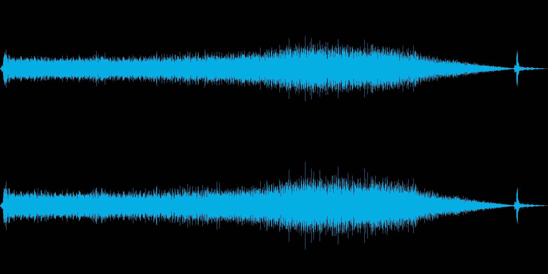 ごぉぉ~ 洗濯機の脱水時の音 ショートの再生済みの波形