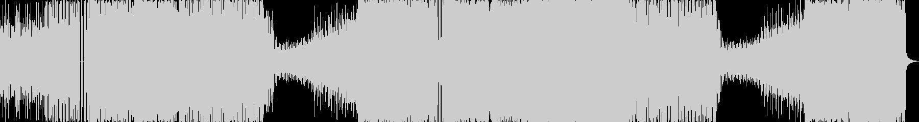 ドラマチックな展開のEDM系インストの未再生の波形