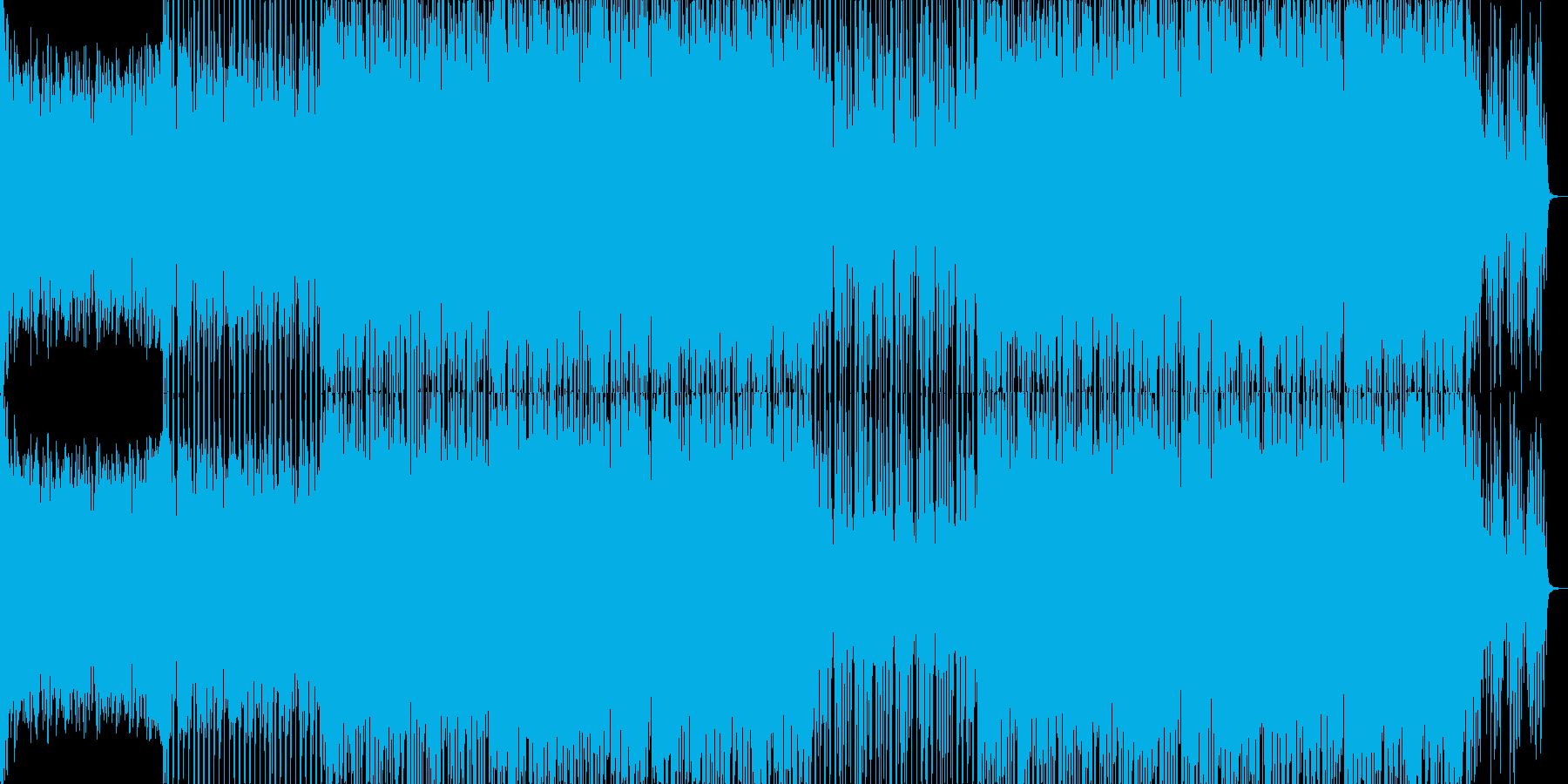 アフロパーカッションのEDM-01の再生済みの波形