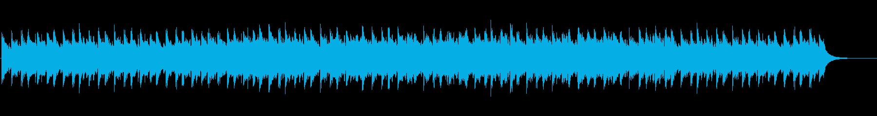 未来に向けたピアノストリングス ループ可の再生済みの波形