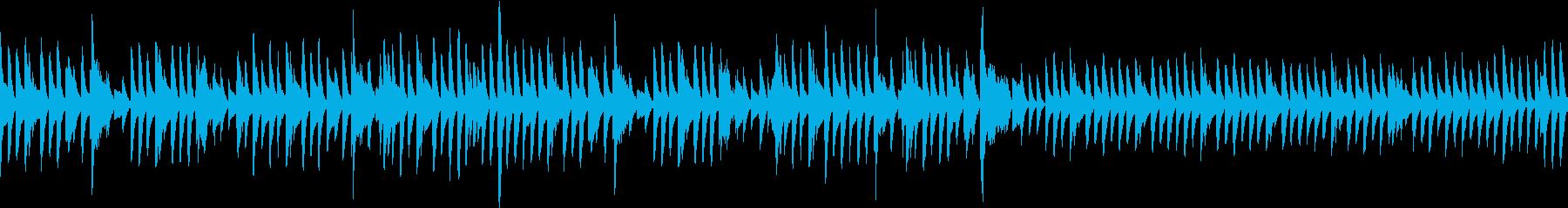 晴れた日の散歩道2(ピアノ/ループ)の再生済みの波形