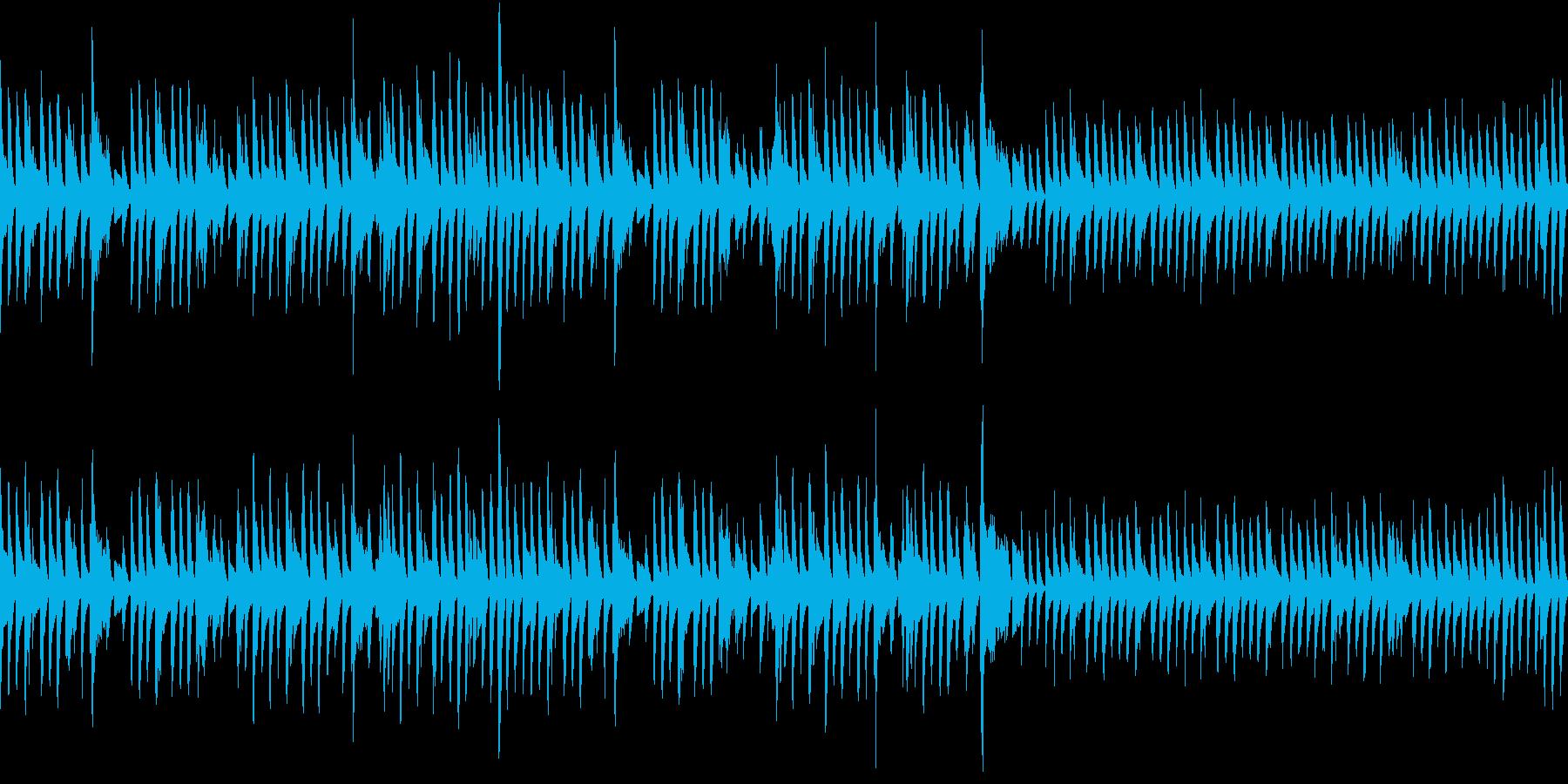 晴れた日の散歩道2(ピアノ)の再生済みの波形