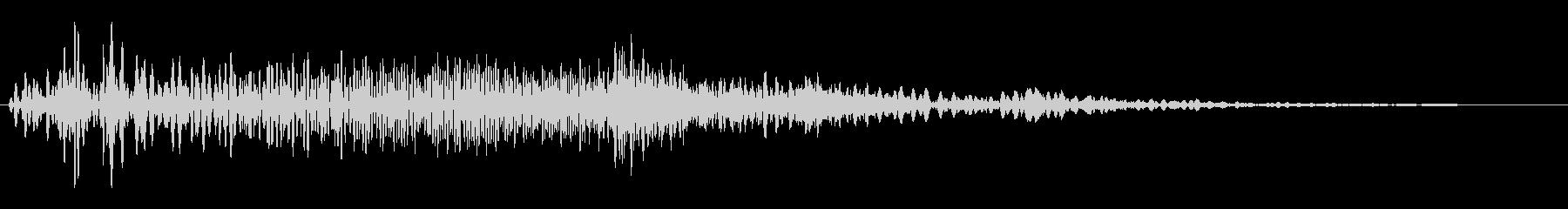 ブィーン (機械的な作動音)の未再生の波形