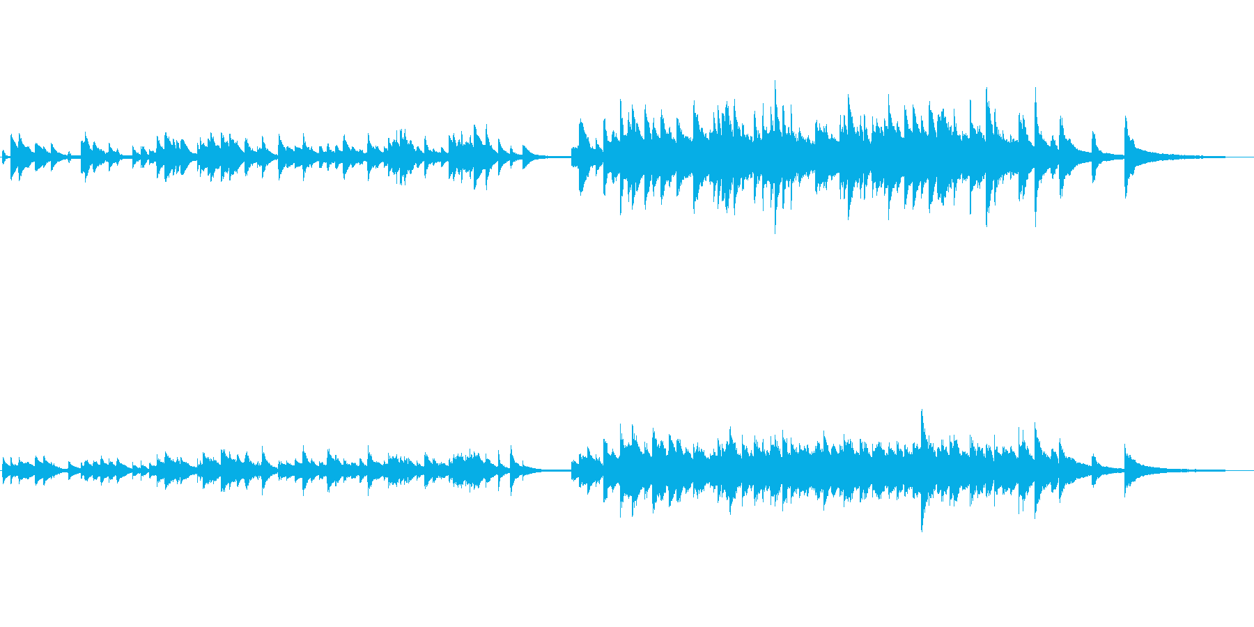 爽やかで切ないイメージのピアノソロ曲ですの再生済みの波形