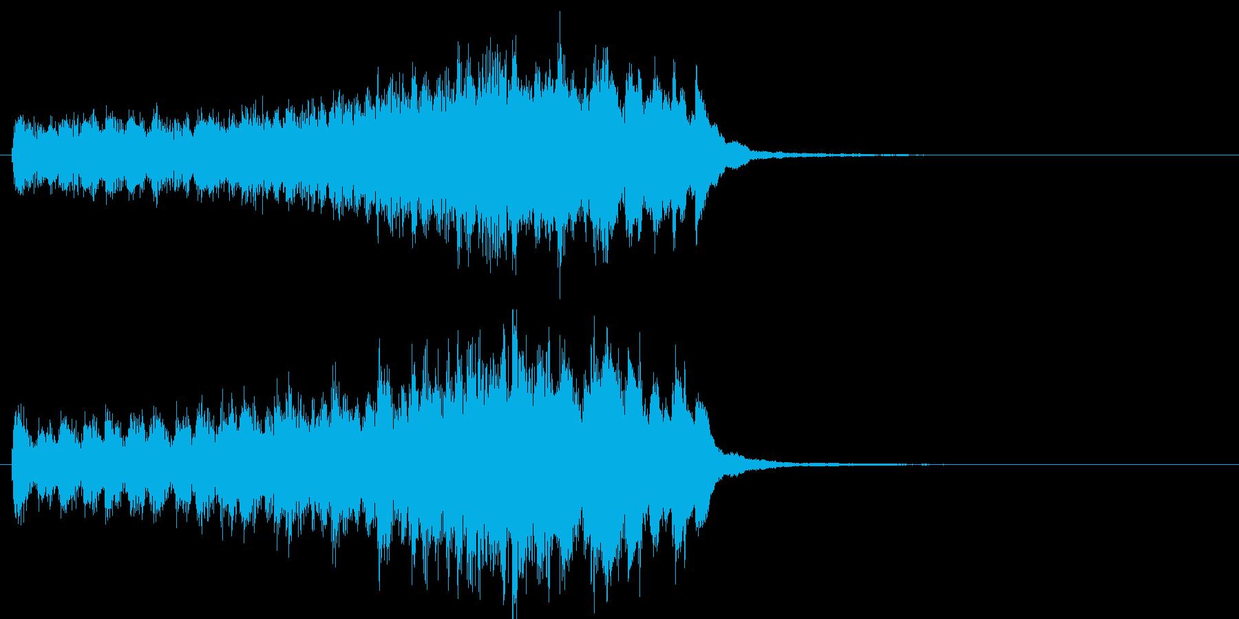 ピアノ早弾き きらきらタラリラ 場面転換の再生済みの波形
