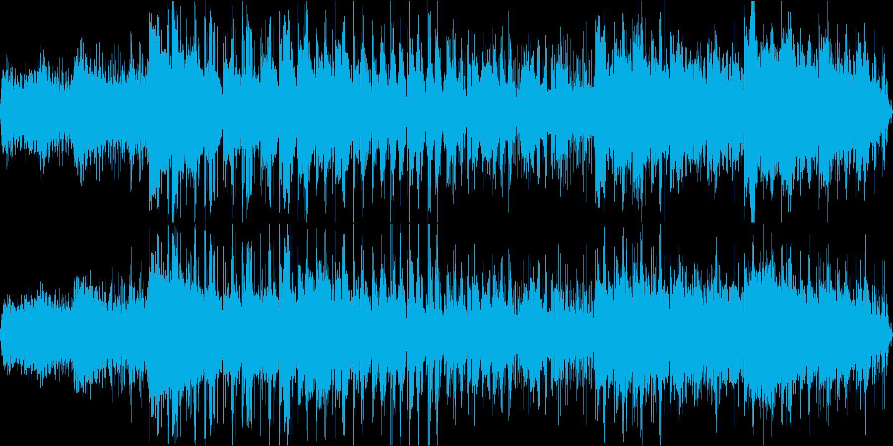 宇宙やSFが合いそうなアンビエントループの再生済みの波形