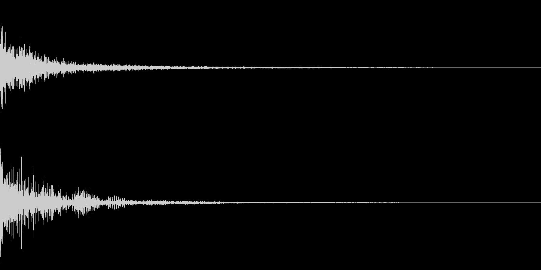 ホラー系アタック音15の未再生の波形