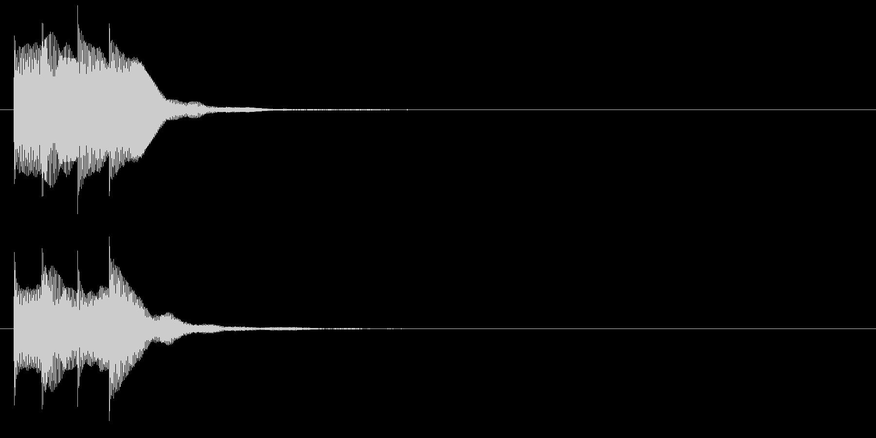 アラーム音07 マレット(maj)の未再生の波形