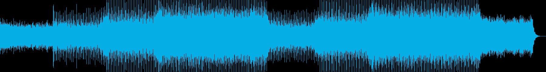 EDMハイテンポで明るいクラブ系-20の再生済みの波形