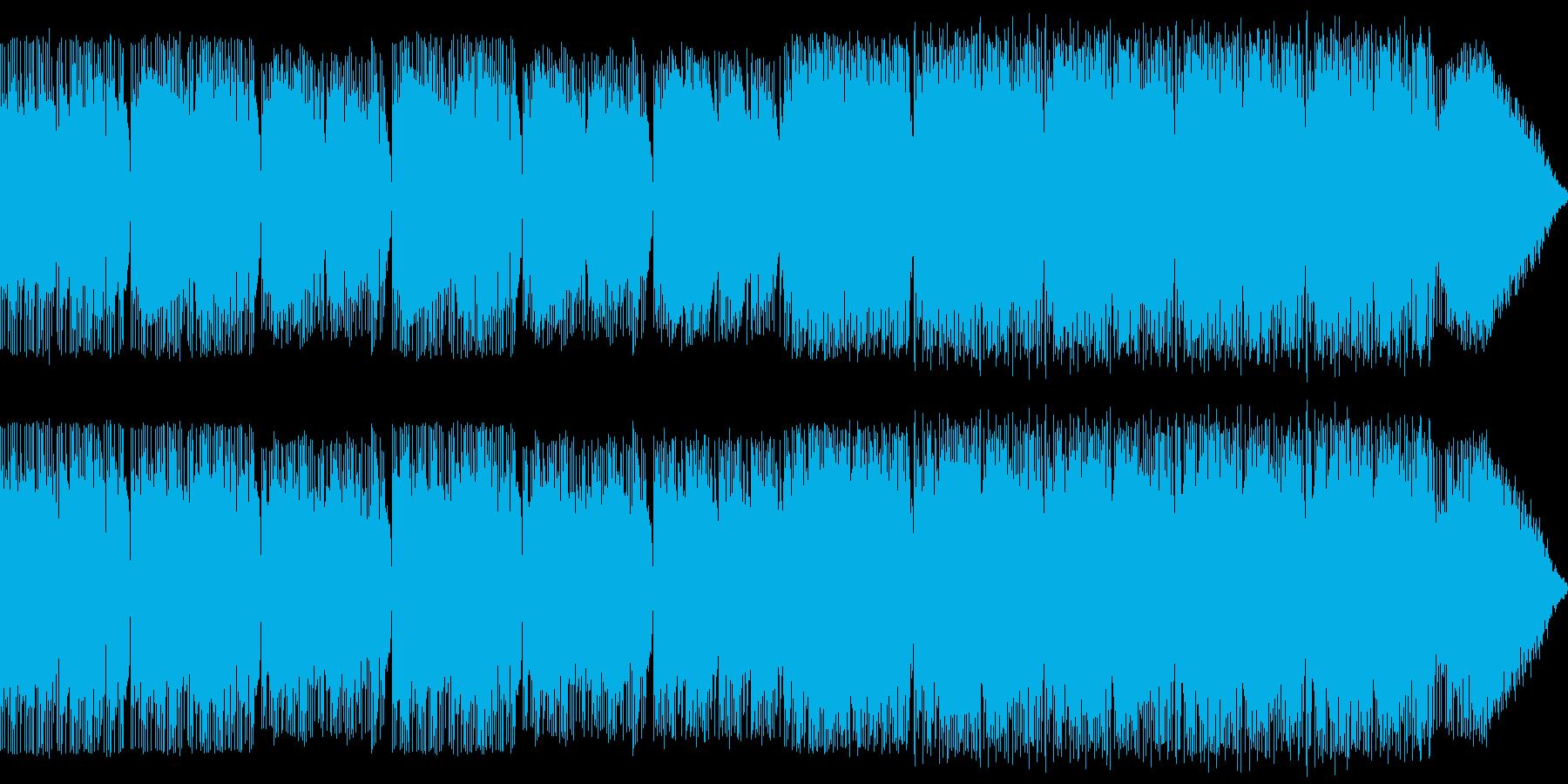 ギターとピアノの綺麗なBGMですの再生済みの波形