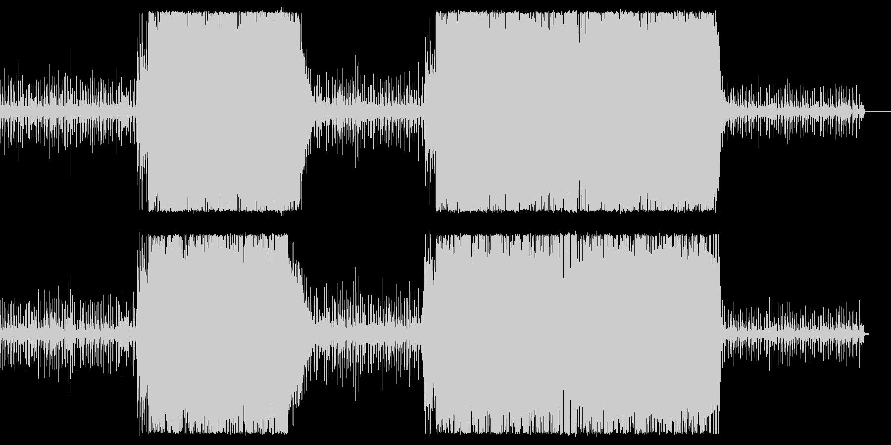 【ドラム・ベース抜き】シンプルかっこいいの未再生の波形