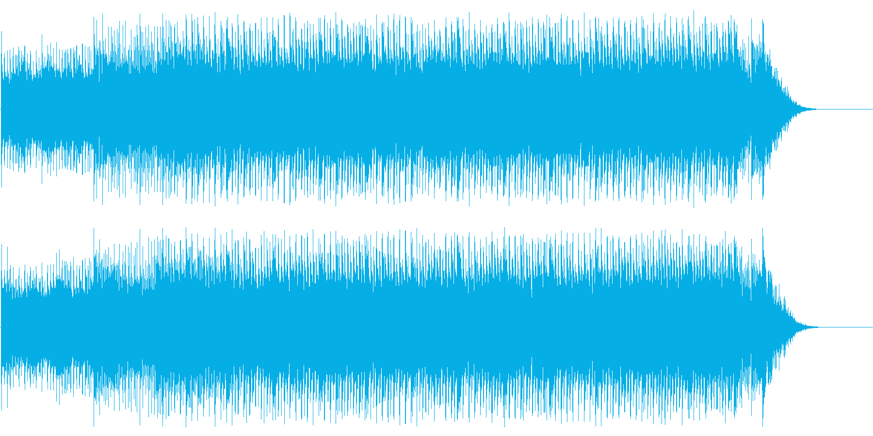CM インフォメーション 情報 店内の再生済みの波形